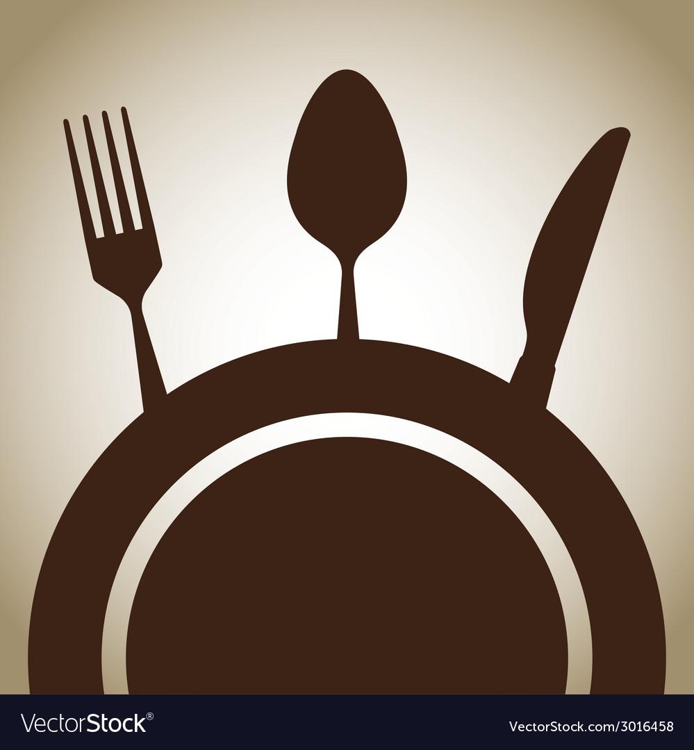 Cutlery design vector | Price: 1 Credit (USD $1)