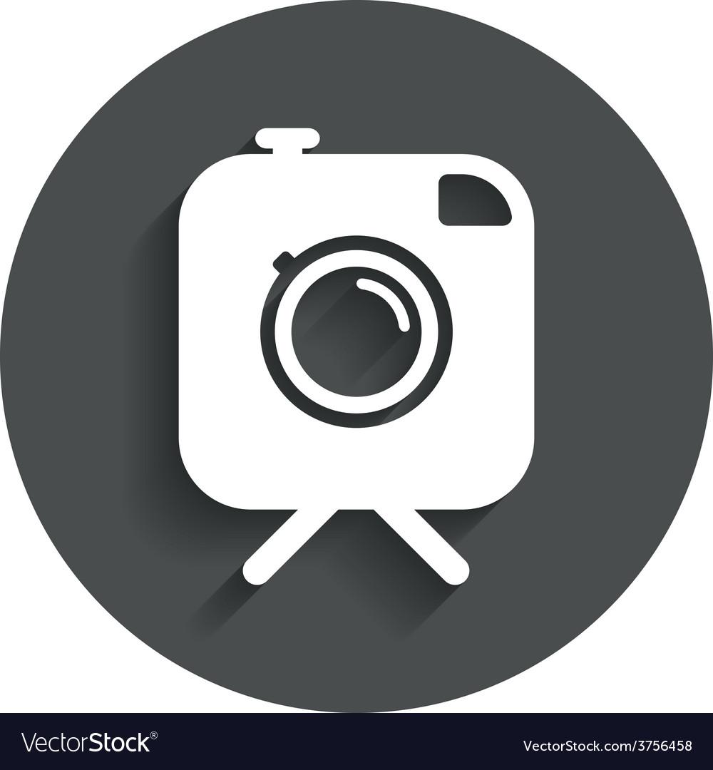 Hipster photo camera sign icon retro camera vector   Price: 1 Credit (USD $1)