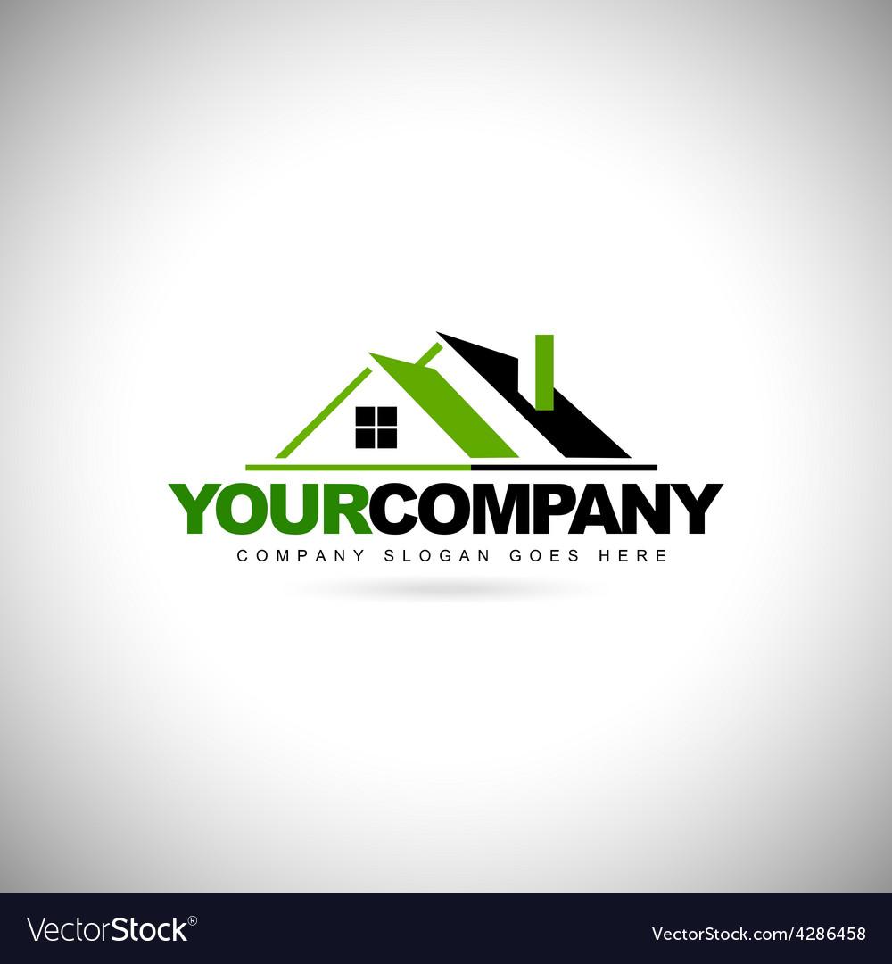 Real estate logo design vector | Price: 1 Credit (USD $1)