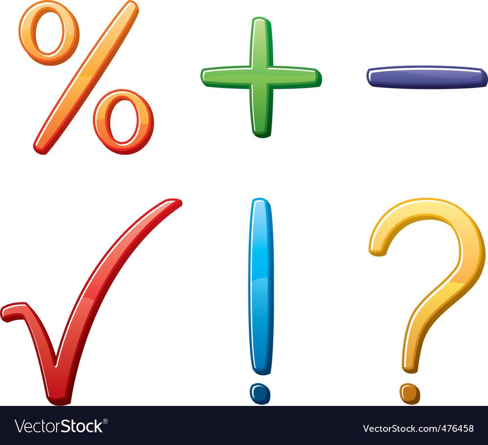 Symbols vector | Price: 1 Credit (USD $1)