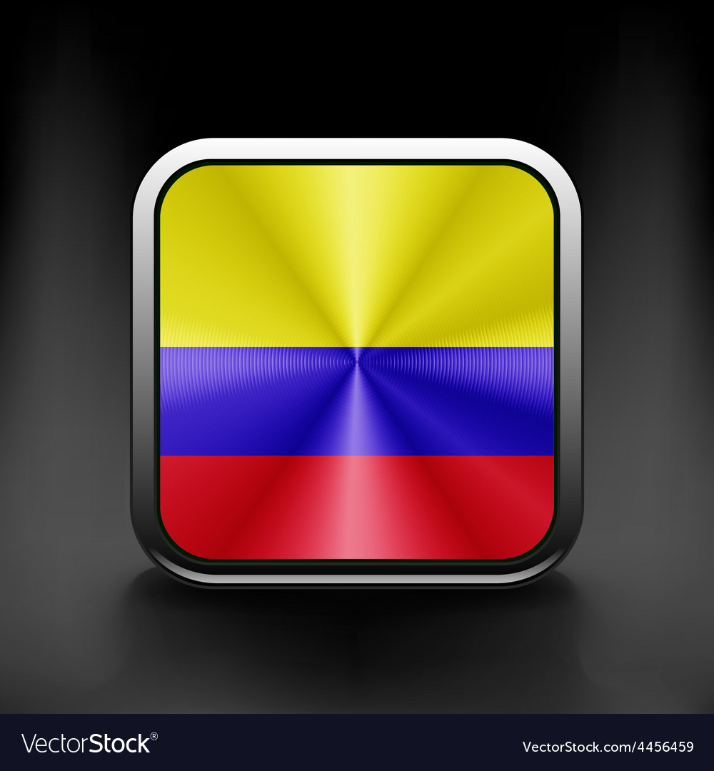 3d ball with flag of colombia high resolution 3d vector | Price: 1 Credit (USD $1)