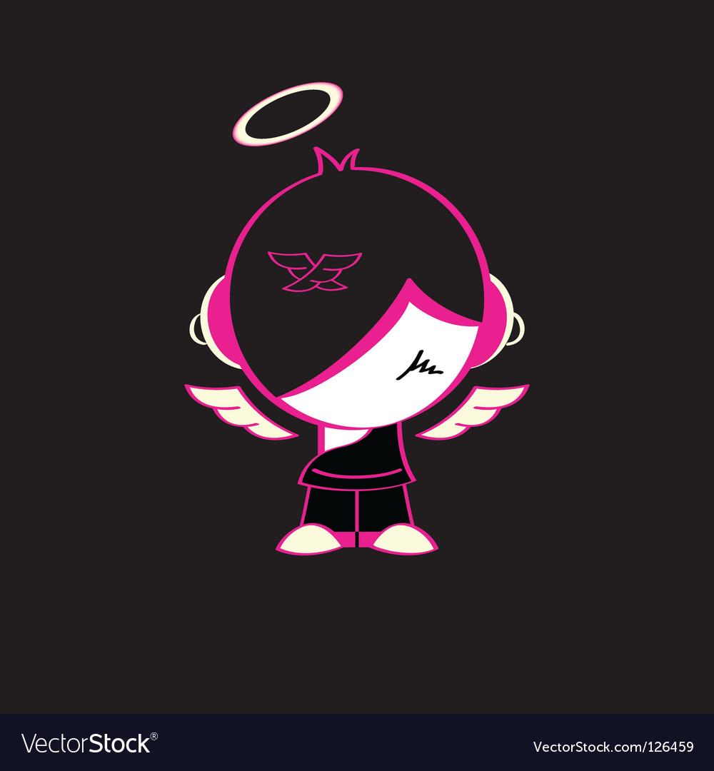 Emo god vector | Price: 1 Credit (USD $1)