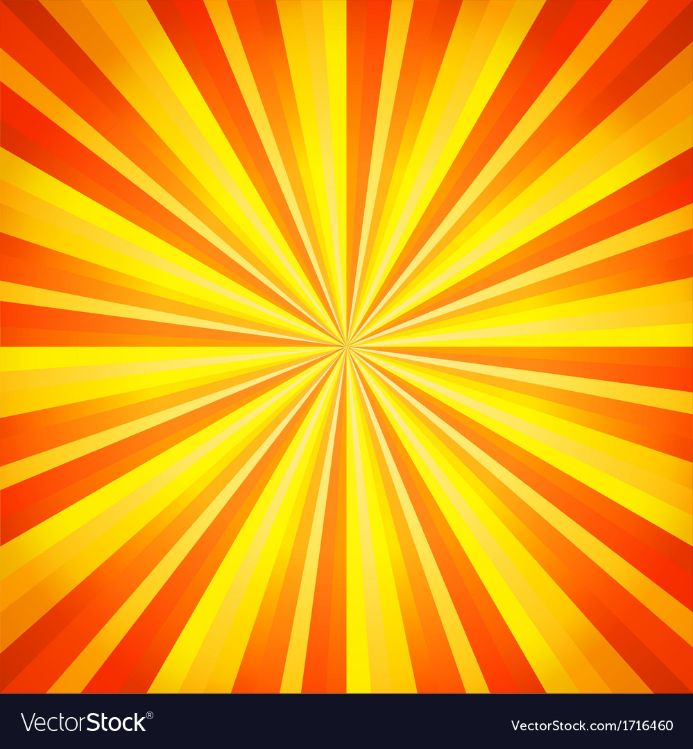 Abstract orange and yellow line background vector | Price: 1 Credit (USD $1)