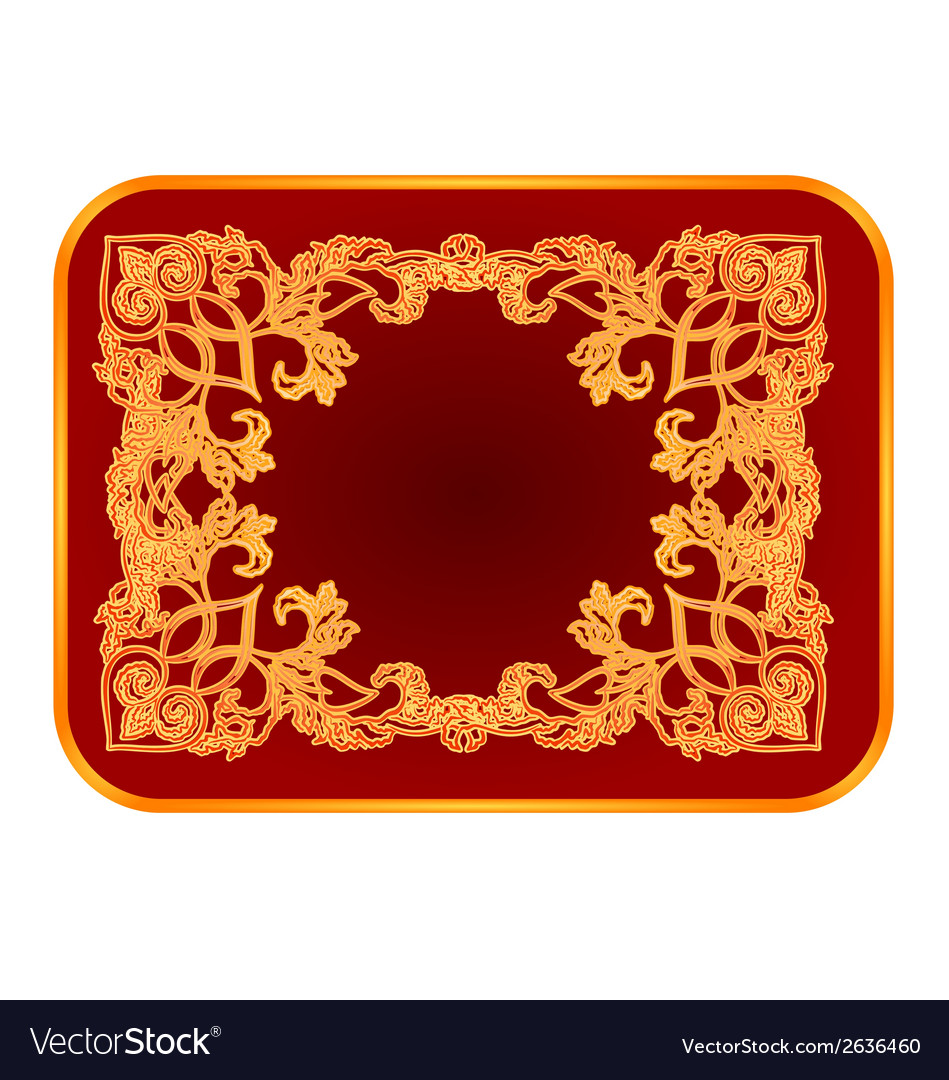 Business card with a gilded ornaments vector   Price: 1 Credit (USD $1)