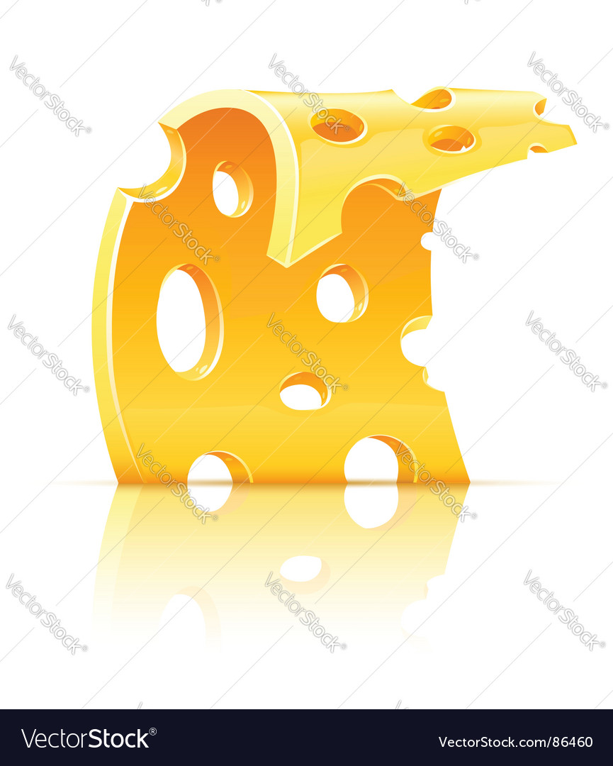 Cheese food holes vector | Price: 3 Credit (USD $3)