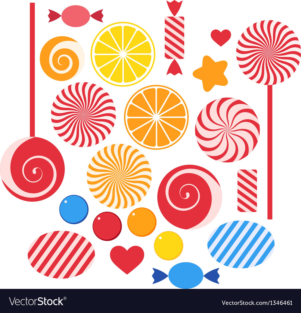 Candy vector | Price: 1 Credit (USD $1)