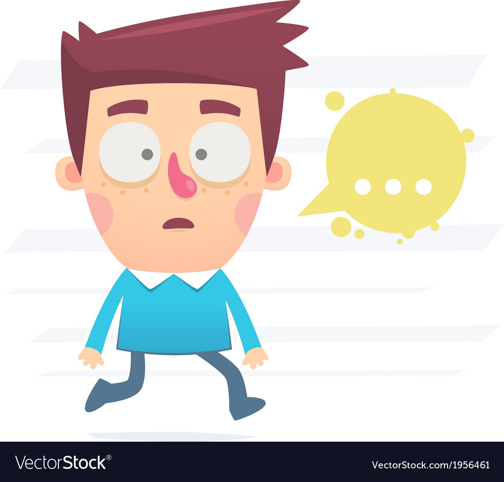 Confusion and stress vector | Price: 1 Credit (USD $1)