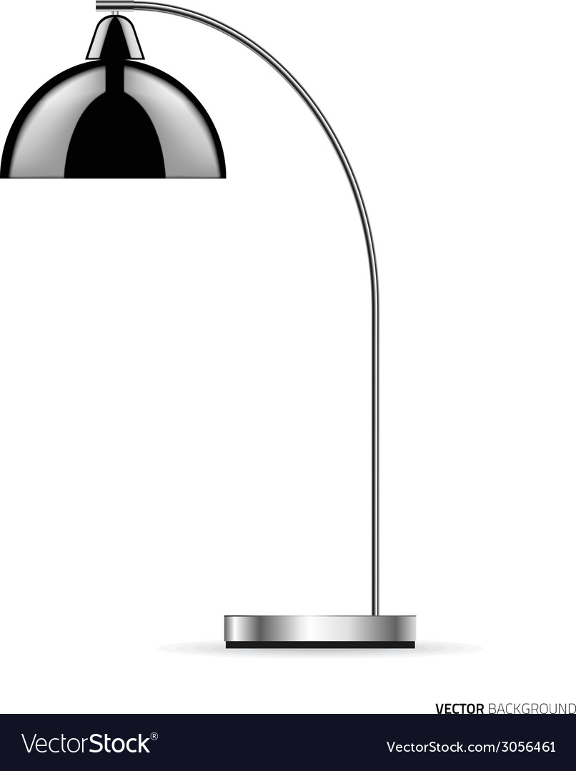 Floor lamp vector | Price: 1 Credit (USD $1)