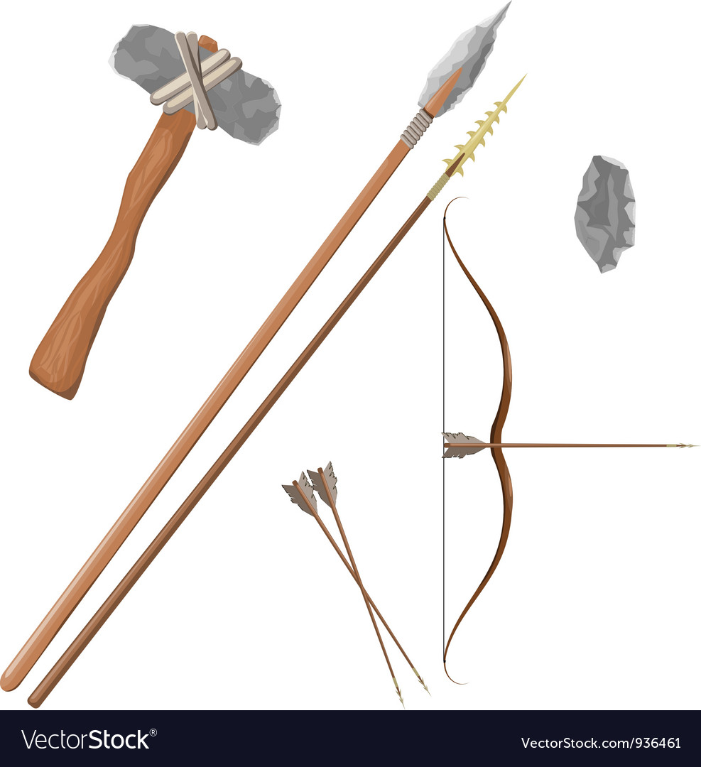 Items ancient people vector | Price: 1 Credit (USD $1)