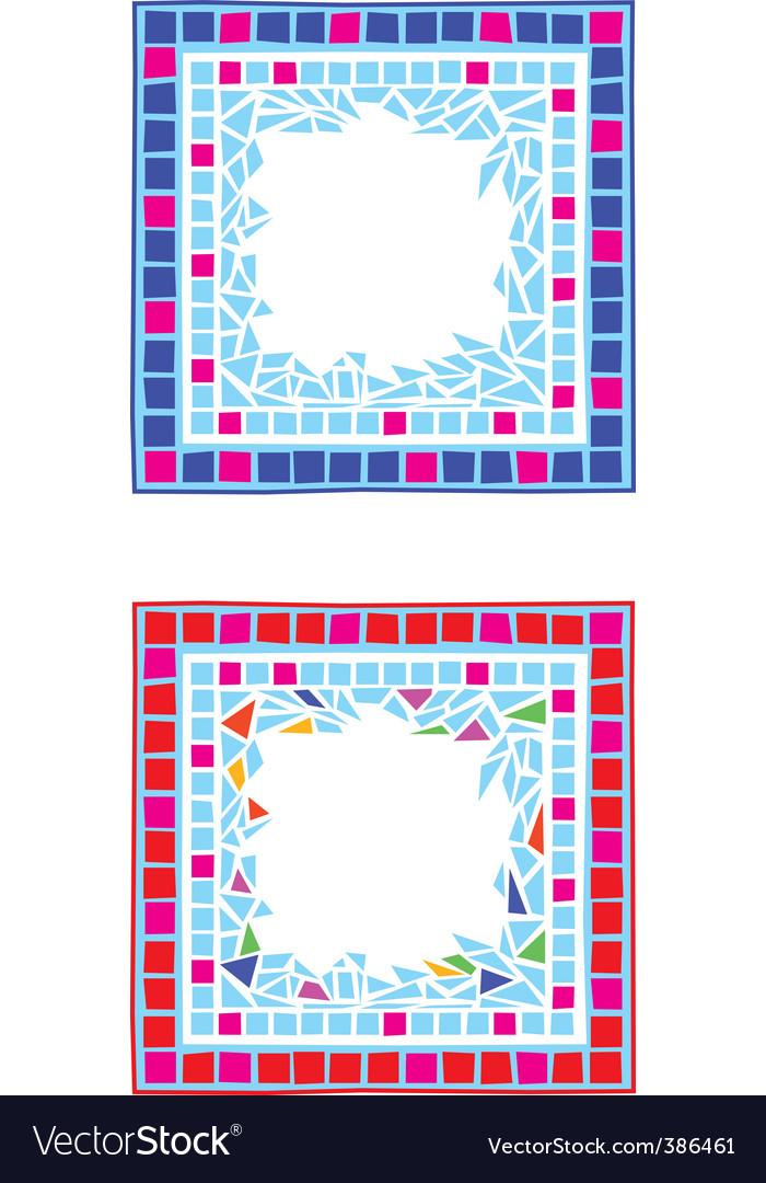 Mosaic border vector   Price: 1 Credit (USD $1)