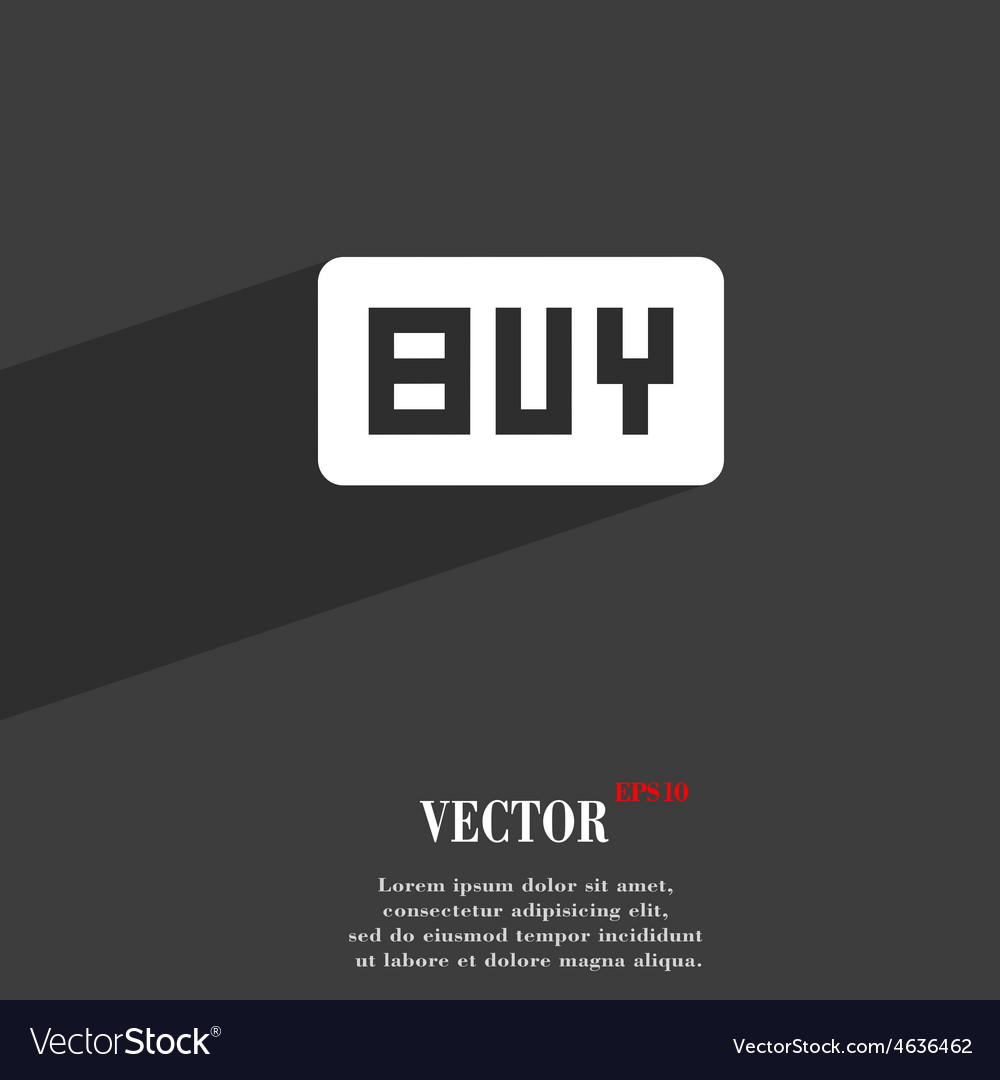 Buy online buying dollar usd icon symbol flat vector | Price: 1 Credit (USD $1)