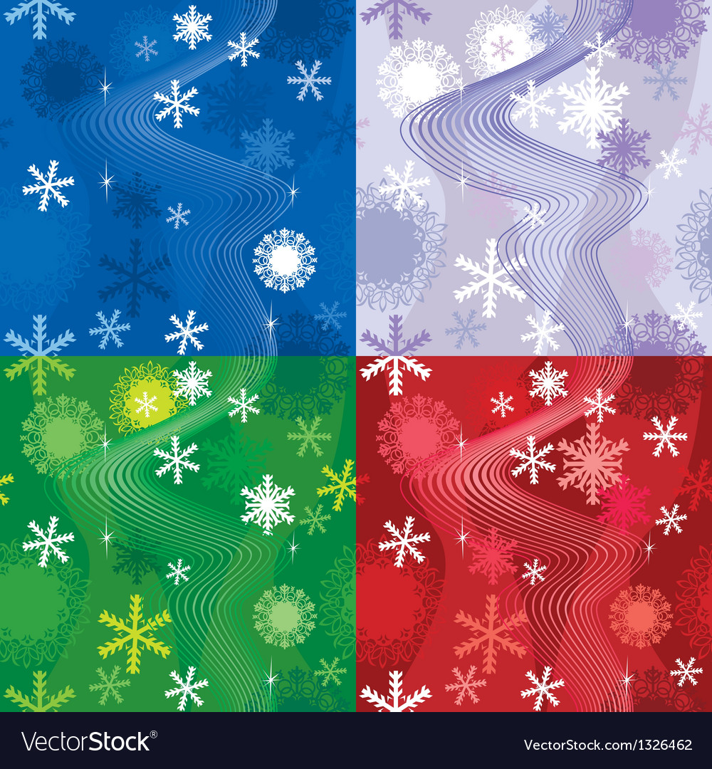 Snow seamless222 380 vector | Price: 1 Credit (USD $1)