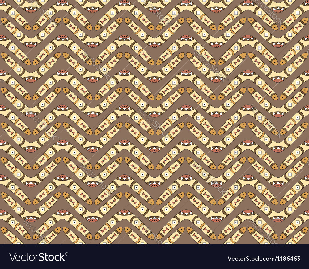 Seamless pattern with boomerangs vector | Price: 1 Credit (USD $1)