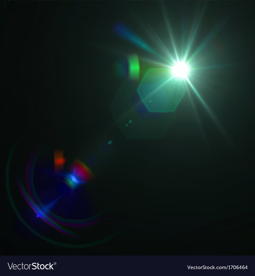 Lens flare effect eps8 vector | Price: 1 Credit (USD $1)