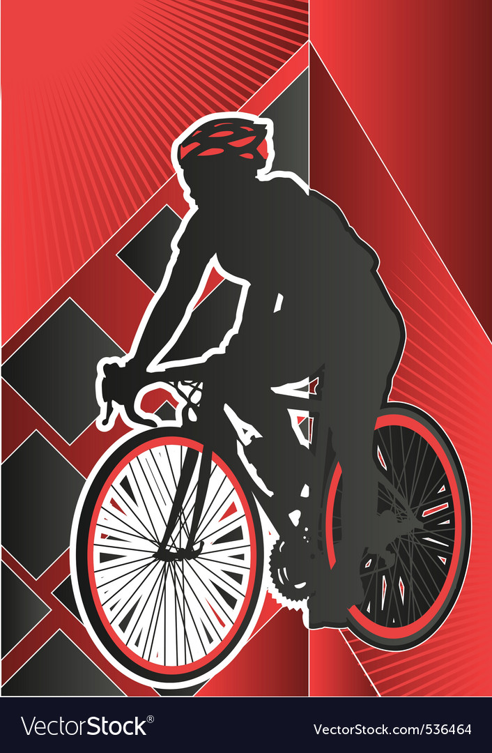 Sport poster series cycling vector | Price: 1 Credit (USD $1)