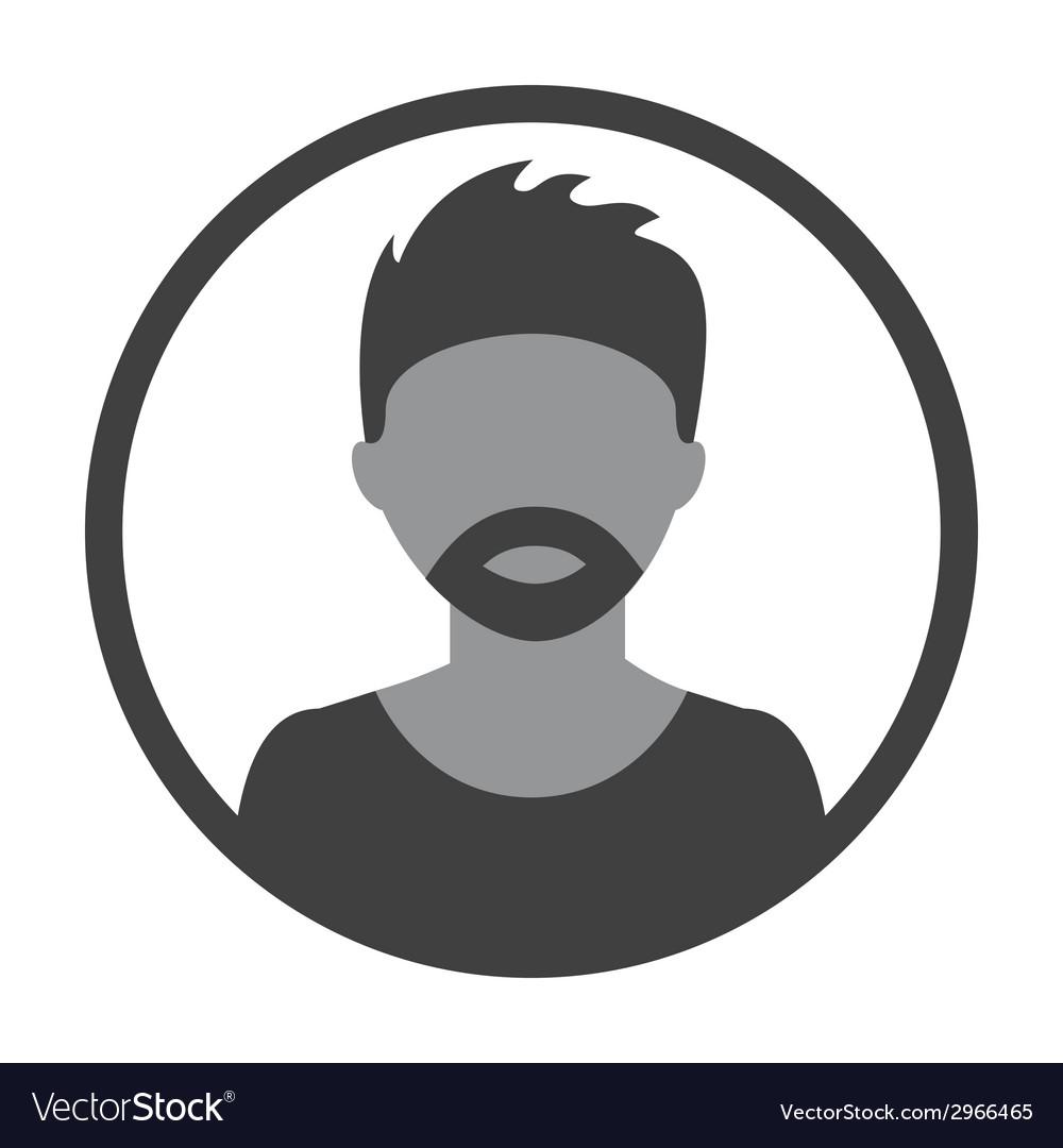 Man avatar design vector | Price: 1 Credit (USD $1)