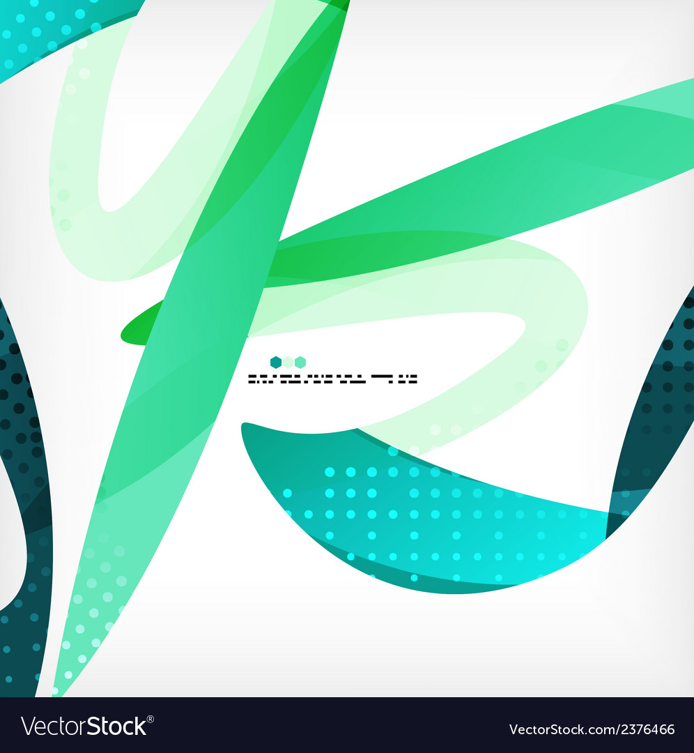 Colorful abstract flowing shapes vector   Price: 1 Credit (USD $1)