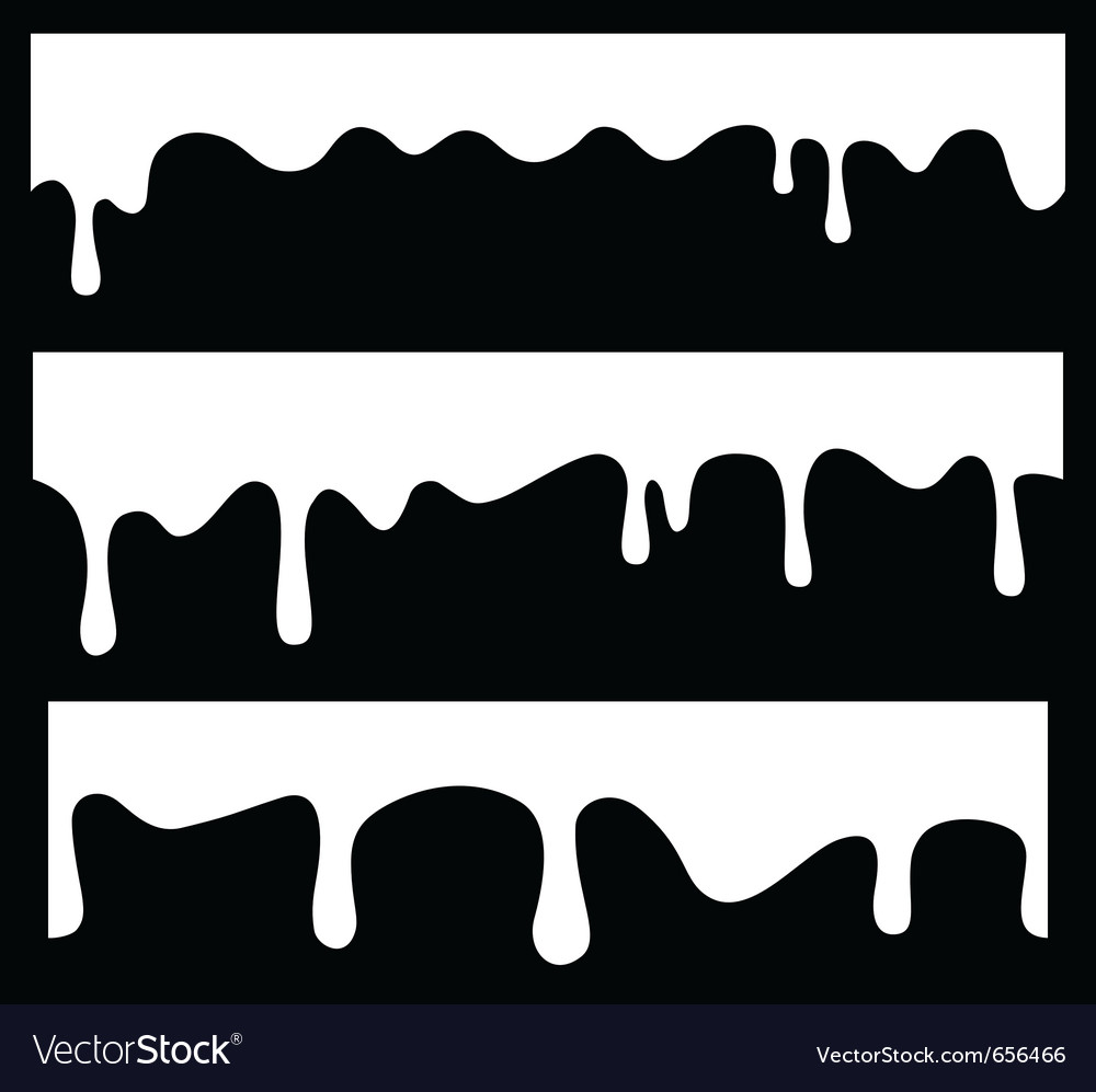 Seamless drips vector | Price: 1 Credit (USD $1)