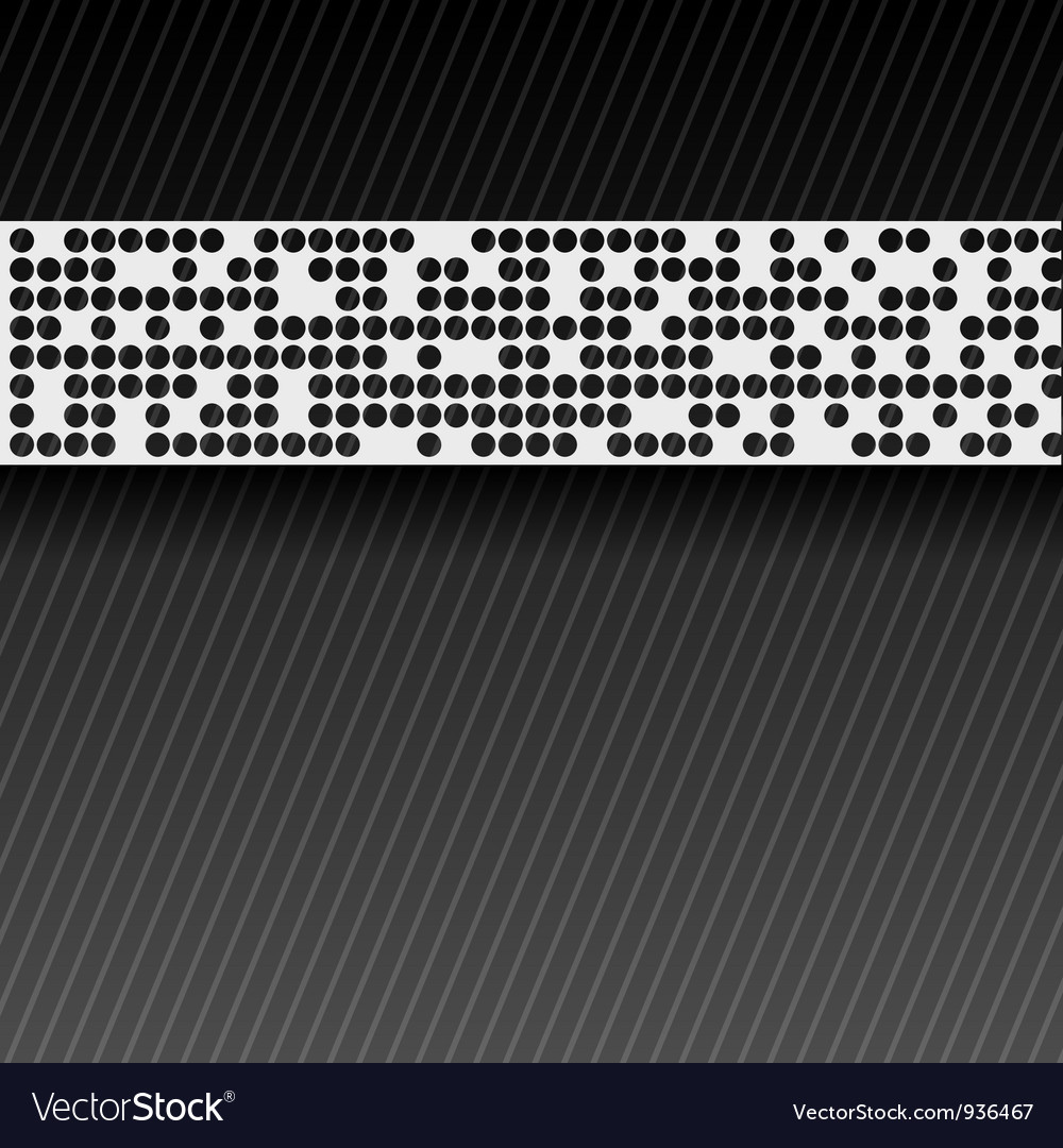 Abstract perforated paper tape eps10 vector | Price: 1 Credit (USD $1)
