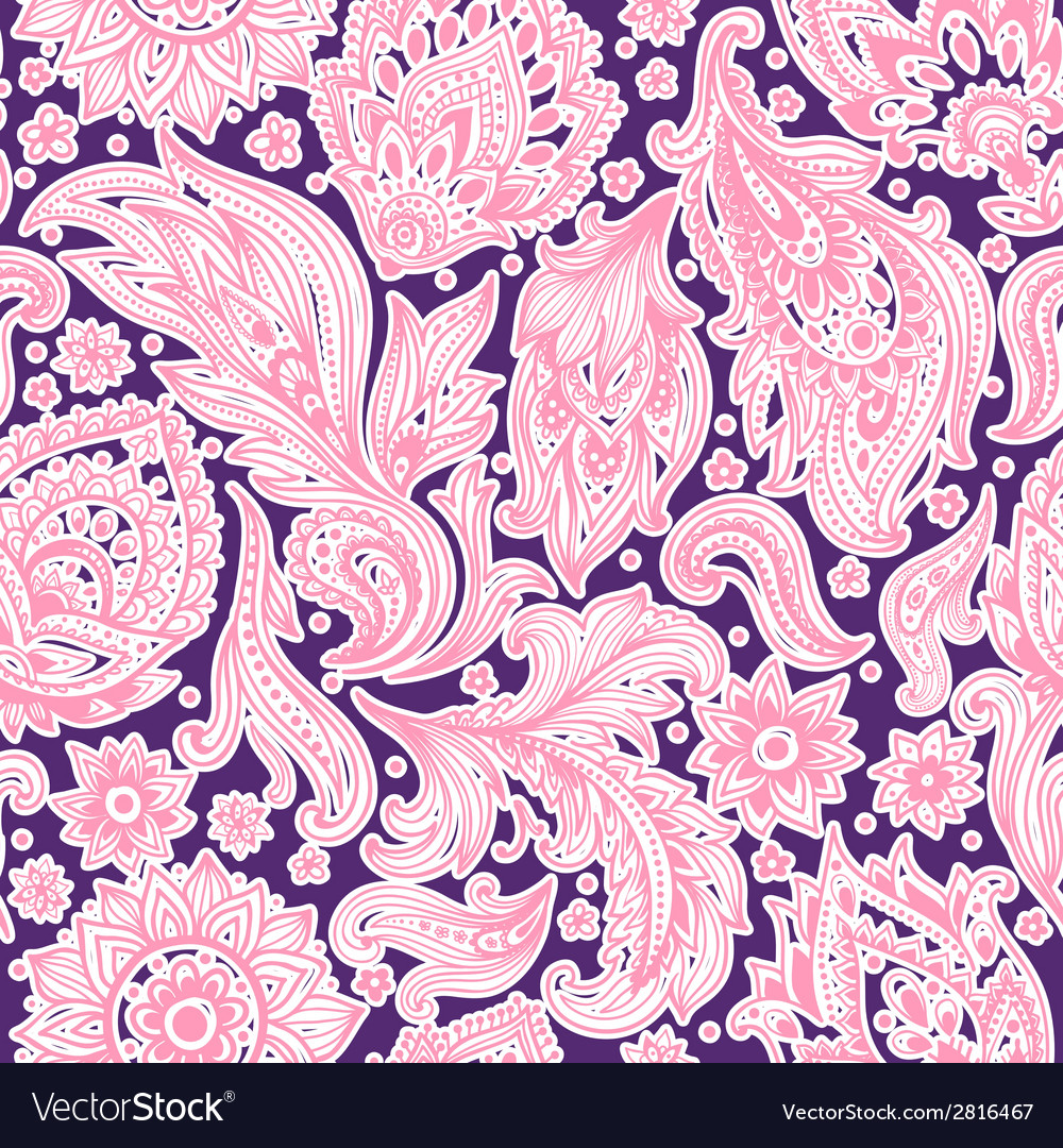 Beautiful floral seamless vector   Price: 1 Credit (USD $1)