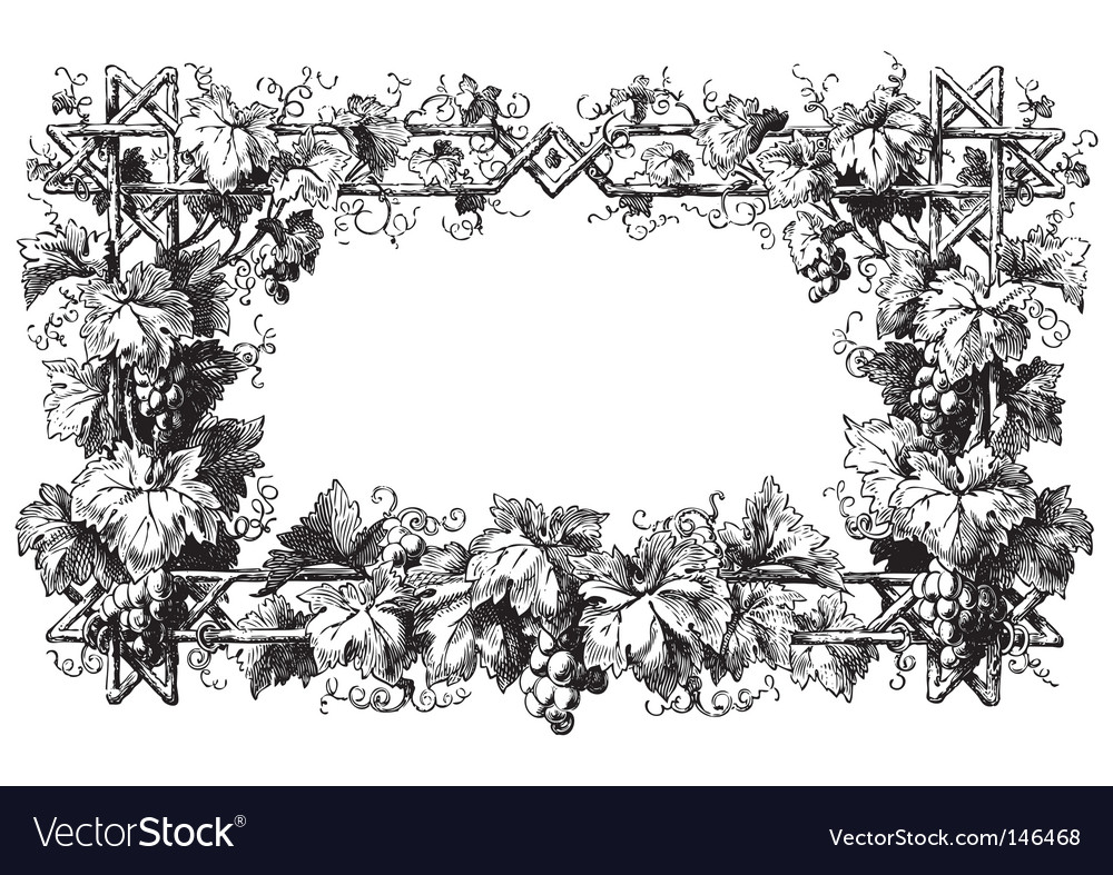 Antique frame engraving vector | Price: 1 Credit (USD $1)