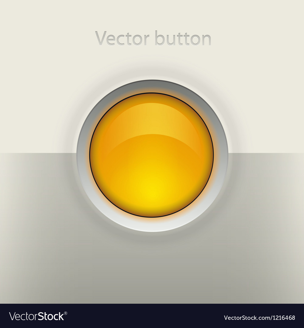Glossy empty button vector | Price: 1 Credit (USD $1)