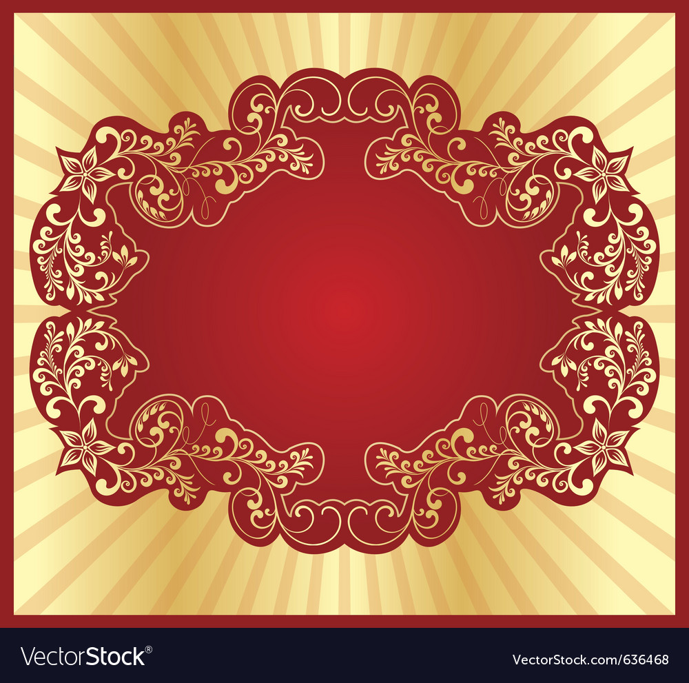 Golden card vector | Price: 1 Credit (USD $1)