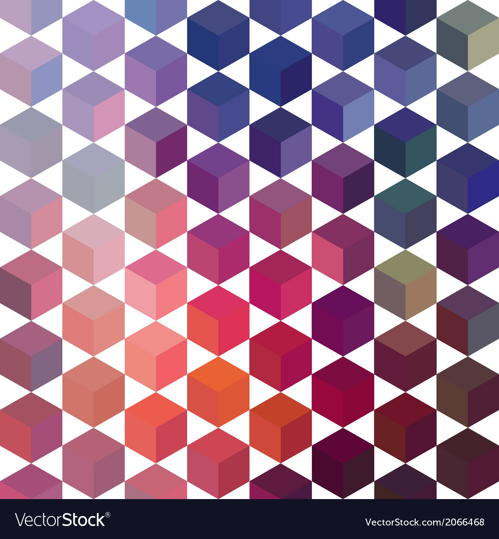 Retro pattern of geometric shapes triangle vector   Price: 1 Credit (USD $1)