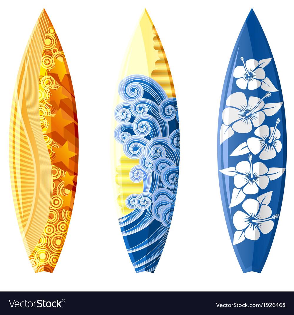Surfboard vector | Price: 1 Credit (USD $1)