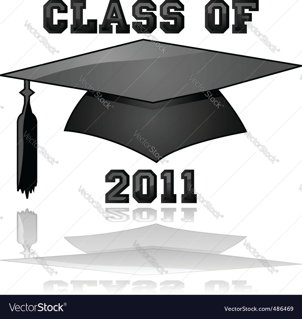 Class of 2011 graduation vector | Price: 1 Credit (USD $1)