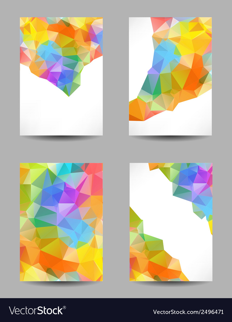 Backgrounds with abstract triangles vector | Price: 1 Credit (USD $1)