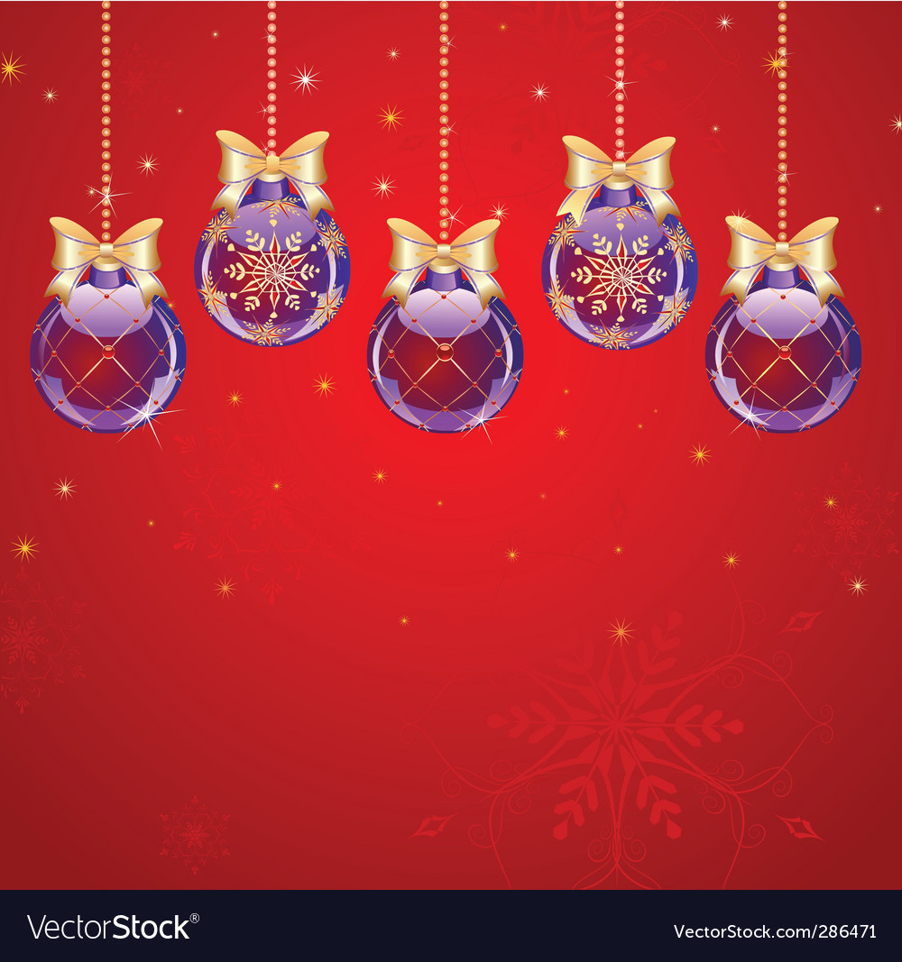 Christmas bauble vector | Price: 3 Credit (USD $3)
