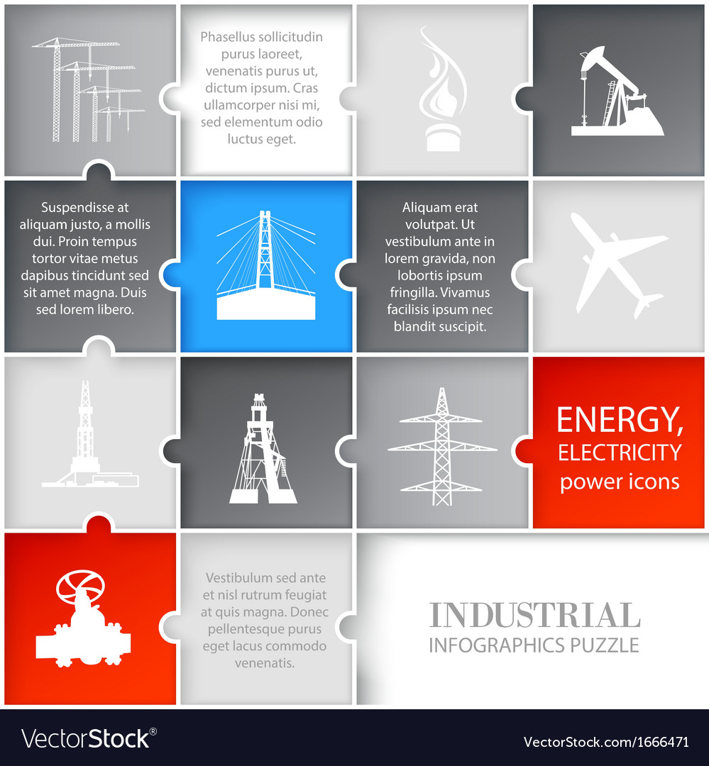 Oil icons infographic vector | Price: 1 Credit (USD $1)