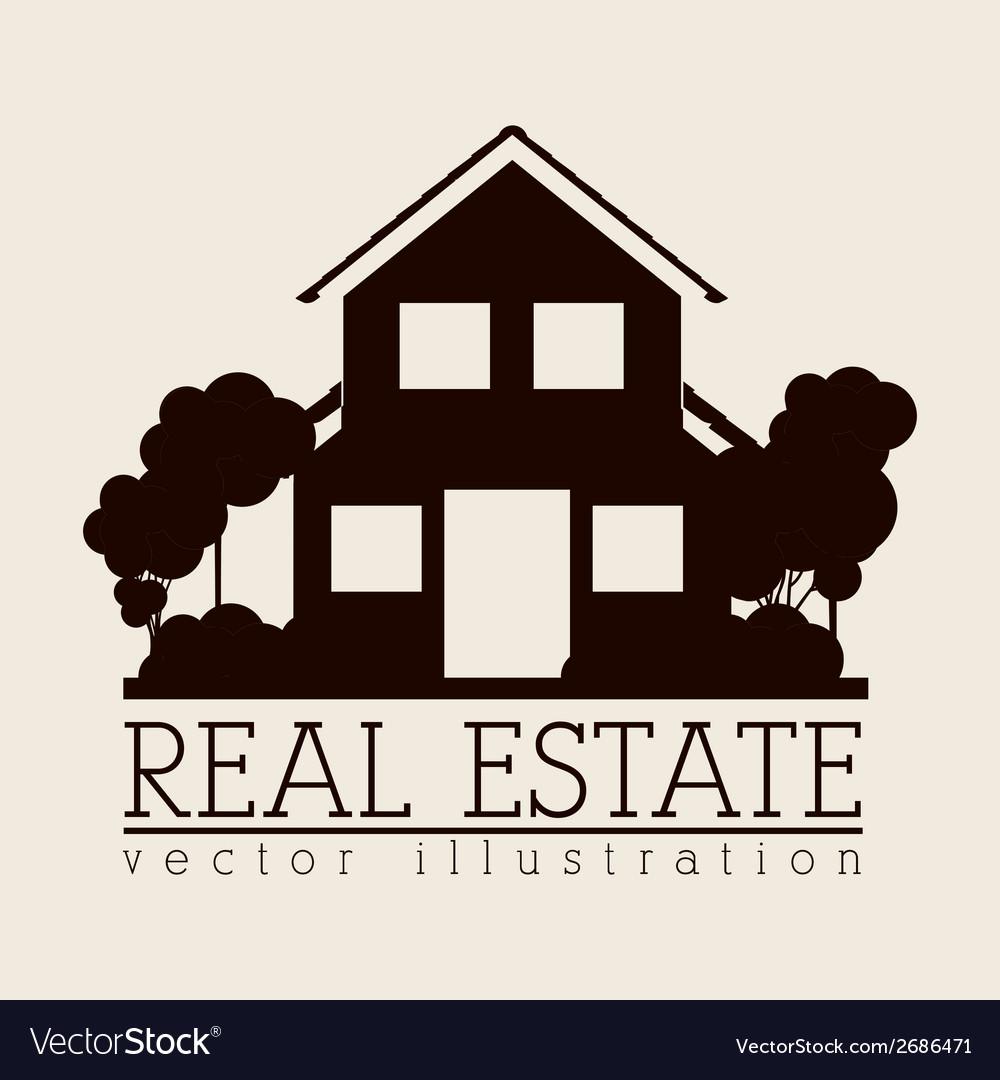 Simple house design icon vector   Price: 1 Credit (USD $1)