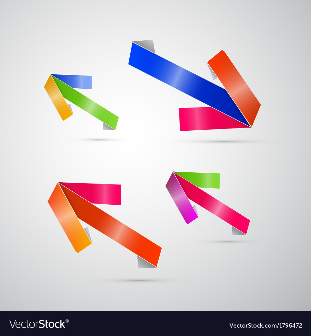 Abstract 3d arrow icon vector | Price: 1 Credit (USD $1)