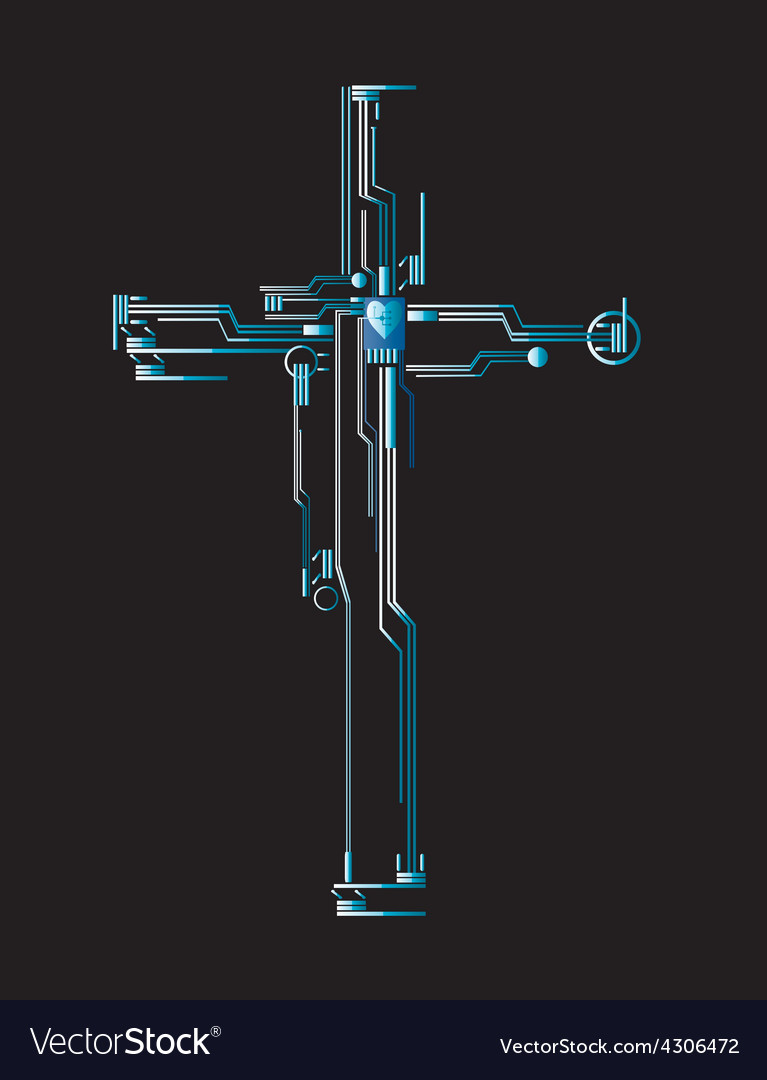 Cross transmission vector | Price: 1 Credit (USD $1)