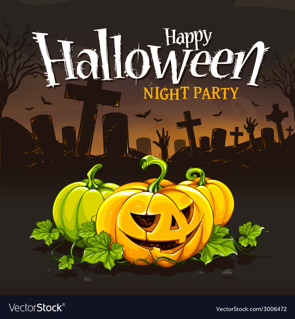 Halloween card 2 vector | Price: 3 Credit (USD $3)