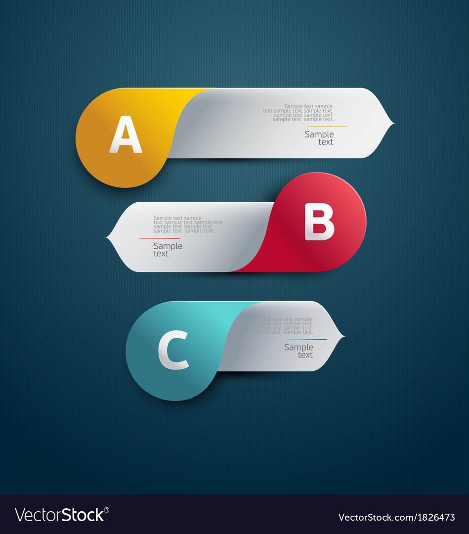 Colorful banner vector | Price: 1 Credit (USD $1)