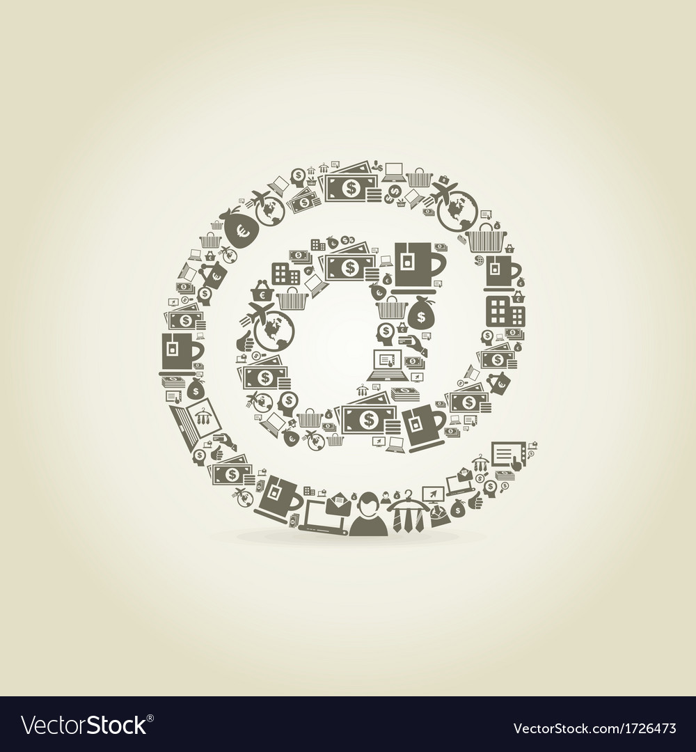 Mail business vector | Price: 1 Credit (USD $1)