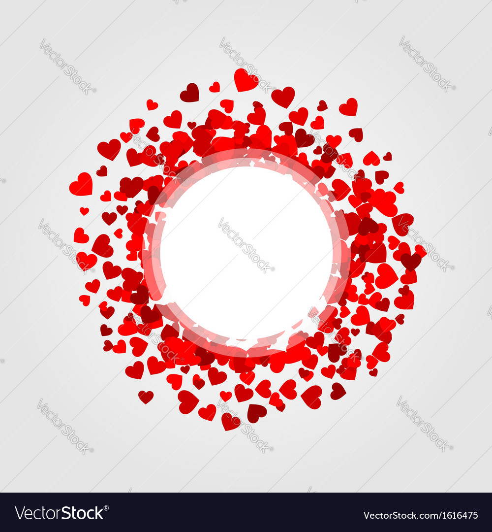Design element with hearts vector   Price: 1 Credit (USD $1)