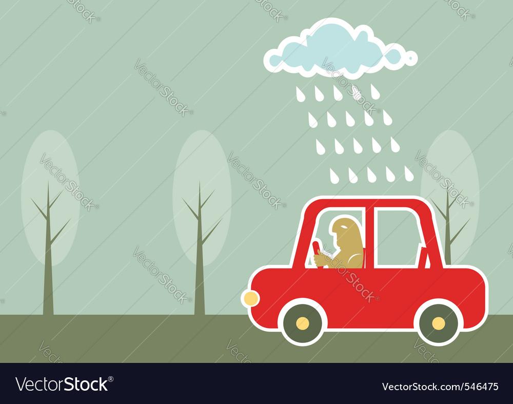 Man driving vector   Price: 1 Credit (USD $1)