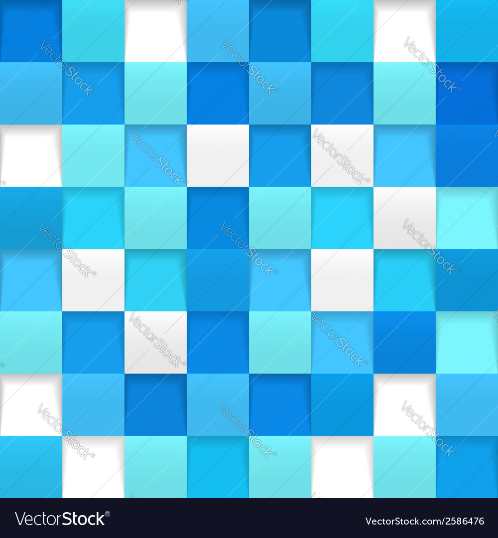 Abstract square mosaic vector | Price: 1 Credit (USD $1)