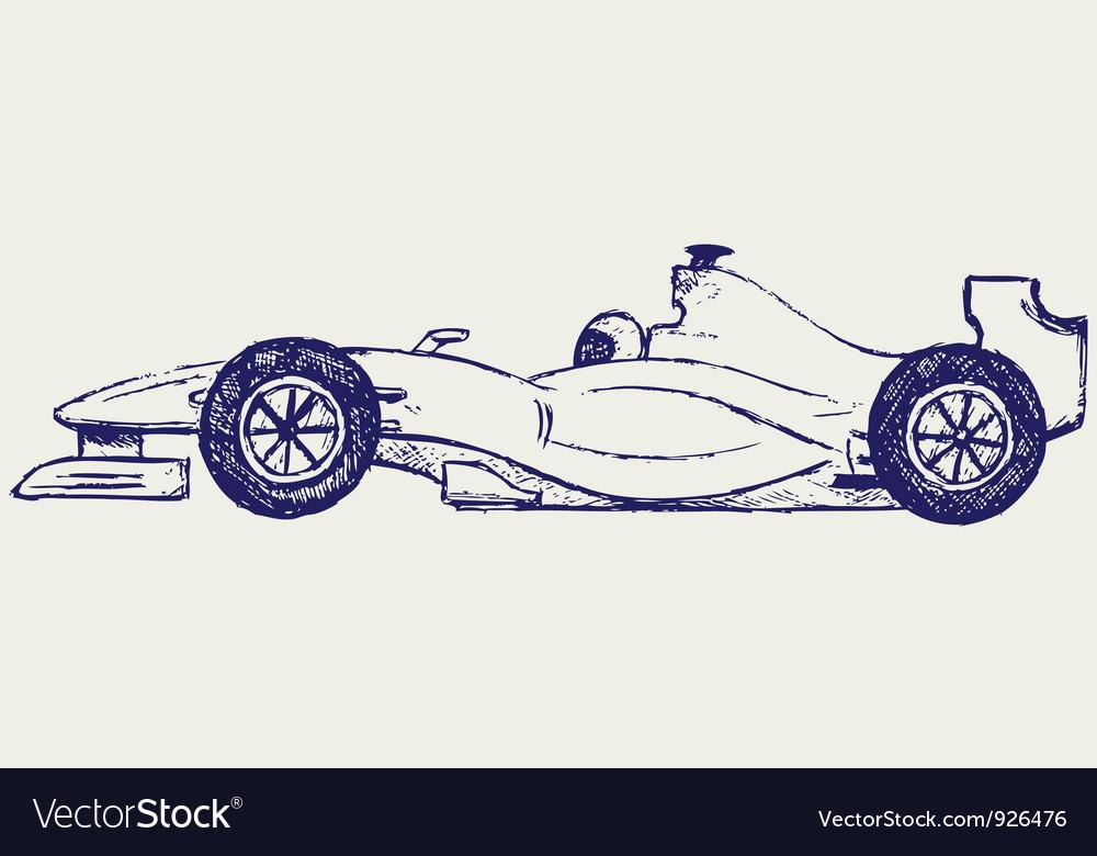Formula 1 race vector | Price: 1 Credit (USD $1)