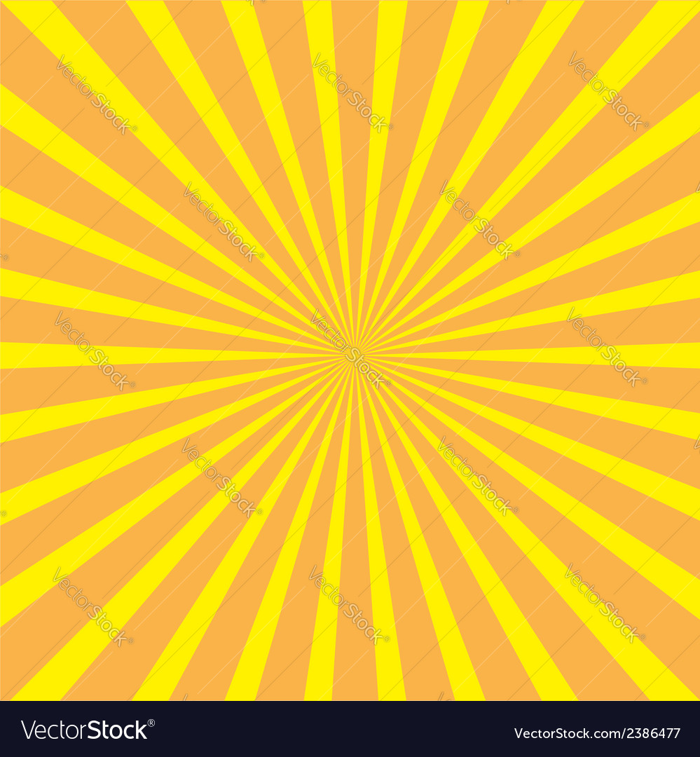 Sunburst with ray of light template yellow and ora vector | Price: 1 Credit (USD $1)
