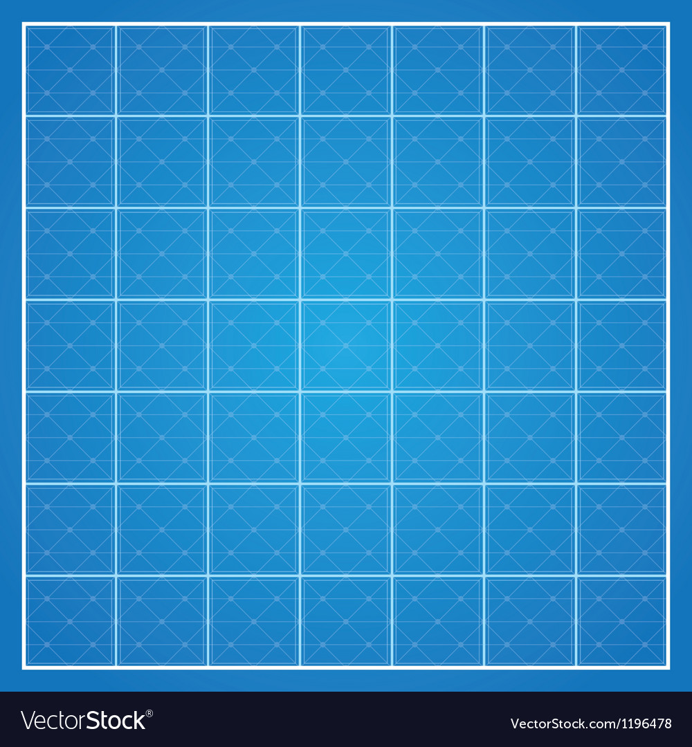 Checked blueprint background vector | Price: 1 Credit (USD $1)
