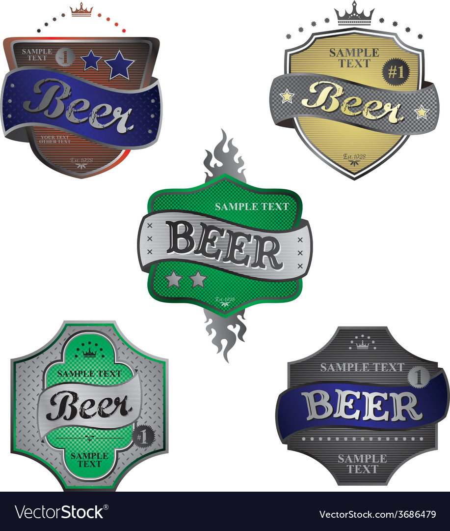 Beer theme vector | Price: 1 Credit (USD $1)