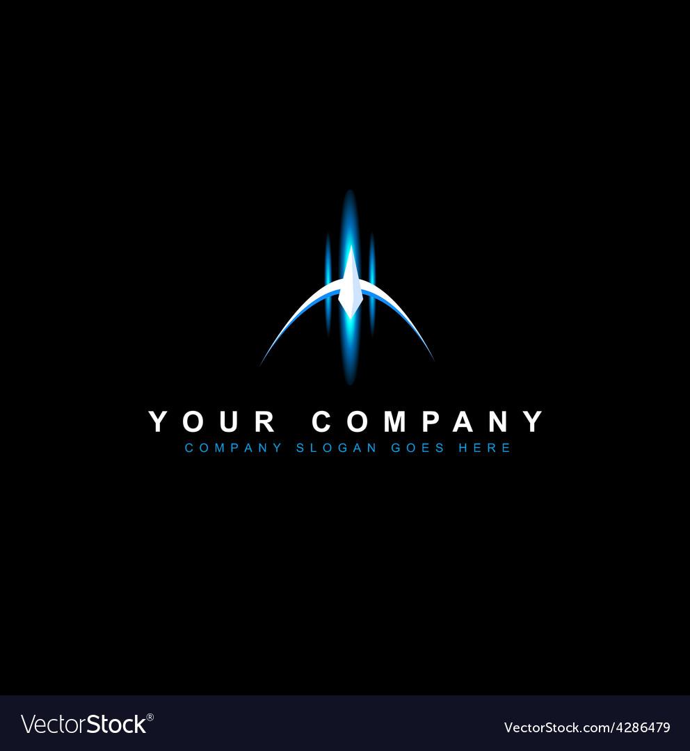 Sci fi design logo vector | Price: 1 Credit (USD $1)
