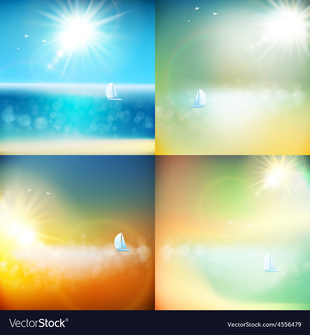 Summer background with burst eps 10 vector   Price: 1 Credit (USD $1)