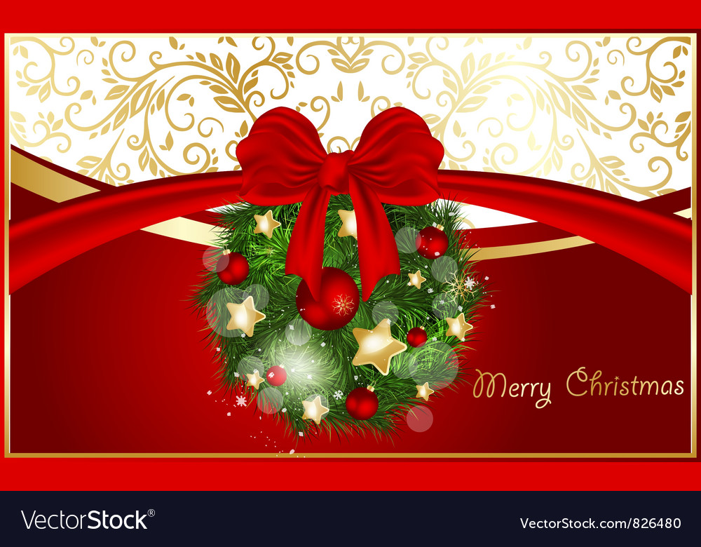 Abstract xmas background vector | Price: 1 Credit (USD $1)