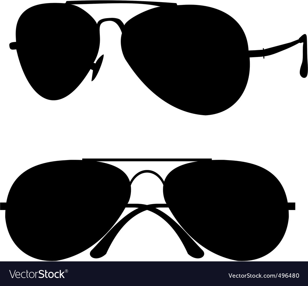 Classical sunglasses vector | Price: 1 Credit (USD $1)